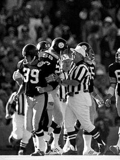 Revisiting Jack Lambert's Super Bowl X Throwdown Pittsburgh Steelers Football, School Football, Dallas Cowboys, Chuck Noll, Tom Landry, Middle Linebacker, Jack Lambert, Nick Saban, Steel Curtain