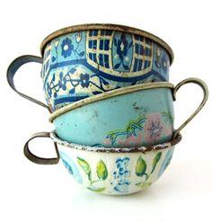 Turquoise | tea / coffee cups
