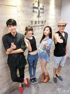 Dino Lee, Gong Yi Teng and cast of Miss In Kiss Miss In Kiss Drama, Miss Kiss, A Love So Beautiful, Thai Drama, Asian Actors, Cute Icons, Actors & Actresses, Kdrama, Tv Shows