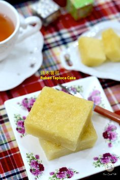 Coco's Sweet Tooth ......The Furry Bakers: 烤木薯糕 Baked Tapioca Cake