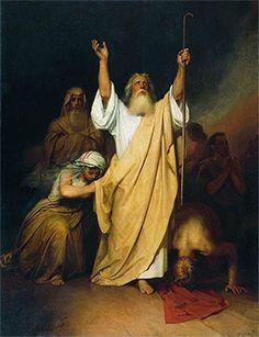 Prière de Moïse après la traversée de la mer Rouge Ivan Kramskoy