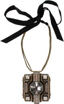 LANVIN Large Pendant Necklace #fashion #style