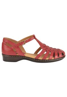 Wide Width Higby Sandals by SoftSpots® | Shop By Brand from Roamans