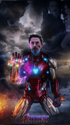 Tony Stark Snap Infinity Stones for the iPhone - Avengers Endgame Marvel Dc Comics, Marvel Avengers, Iron Man Avengers, Marvel Films, Marvel Art, Marvel Memes, Marvel Characters, Marvel Cinematic, Iron Man Kunst
