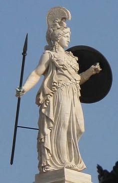 Resultado de imagem para escultura grega da deusa atena