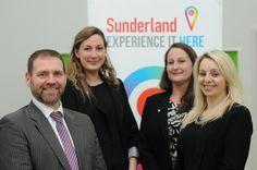 Sunderland BID celebrating their Investors in People accreditation!