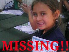 6 year old Isabel Celis has been missing from her home in Tucson, Arizona since sometime between 11p.m. Friday and 8a.m. Saturday. Please share and help #FindIsabelCelis