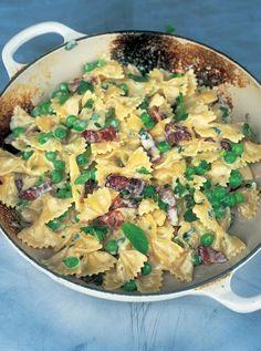 Farfalle & Carbonara Pasta Recipes   Jamie Oliver Recipes