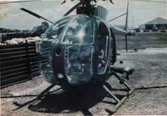 U.S. Army OH-6A in Vietnam. Army photo via Ray Wilhite.