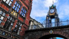 Eastgate Clock - Experience Chester Chester City, Listed Building, 14th Century, Victorian Era, Big Ben, The Row, Entrance, Tower, England