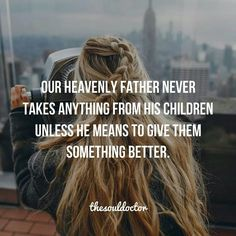 So thankful He knows what's best for us!! Sometimes we want to hang on to the very thing/person that's destroying us! So very glad He steps in to protect and save us from future hurts! Praising God more than ever!!!