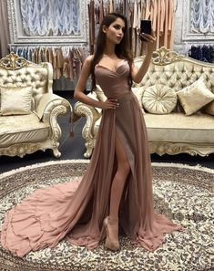 Sweetheart Neckline Two Pieces Prom Dress with #prom #promdress #dress #eveningdress #evening #fashion #love #shopping #art #dress #women #mermaid #SEXY #SexyGirl #PromDresses