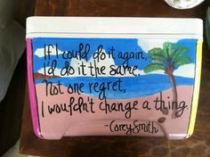 love painted coolers ♥