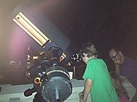 The Melton Memorial Observatory at @University of South Carolina opens for star (plus moon and planet) gazing and every Monday night at dusk for two hours, depending on the weather.   @Discover South Carolina Insiders Travel Blog