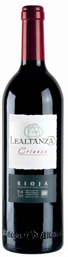 LEALTANZA CRIANZA 2010 DO Rioja (Fuenmayor) Bodegas Lealtanza  Tempranillo 13.5º