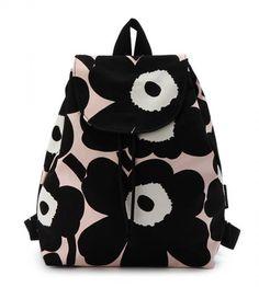 Unikko Erika by marimekko Marimekko Dress, My Style Bags, Unique Bags, Printed Bags, Fashion Colours, Cloth Bags, Cute Fashion, What I Wore, Purses And Bags