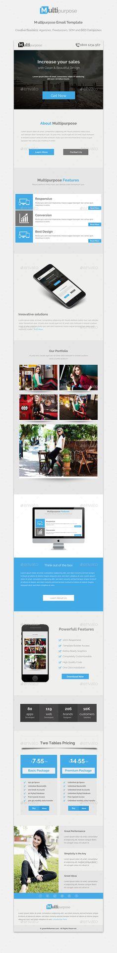 Klambi Email Newsletter III Newsletter templates, Email - email newsletter template