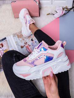 Dámske bielo-ružové viacfarebné tenisky LV107P-4R Huaraches, Nike Huarache, Sneakers Nike, Outfit, Cloths, Shoes, Fashion, Nike Tennis Shoes, Tall Clothing