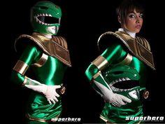 Green Ranger - Power Rangers cosplay by Soni Aralynn