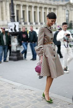 Street style and fashion trends - Lelook | Giovanna Battaglia, L'Uomo Vogue - Paris FW SS2014