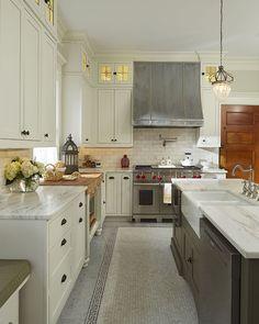 Kitchen renovation in historic preservation district