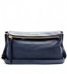 366fadc770c8 Miu Miu Leather shopper with shoulder strap on shopstyle.com Miu Miu  Handbags