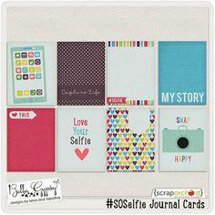 #SOSelfie Journal Cards by Bella Gypsy Designs