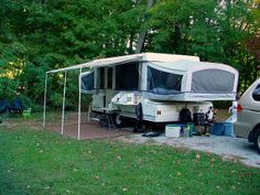 Exterior & Interior modifications on pop-up camper . . . some could be used for any trailer.