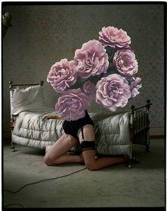So dreamy! It's just like a pictureMagazine: Vogue Italia March 2010Photographer: Tim WalkerModel: Guinevere van Seenus