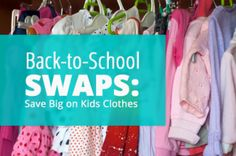 Save on Back-to-School by Hosting a Swap!