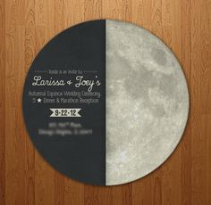 Autumnal Equinox Wedding Invite Front by Troy David Millhoupt/Troy David Designs