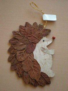 Basteln Schule Igel DIY Naturmaterialien Blätter herrlicher Look Tips On Talking To Kids About Not S Kids Crafts, Leaf Crafts, Toddler Crafts, Diy And Crafts, Arts And Crafts, Paper Crafts, Decor Crafts, Craft Projects, Autumn Crafts