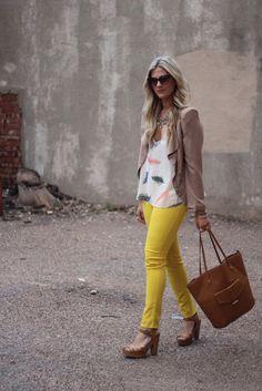 #yellow pants