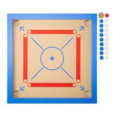 LATTJO Carrom-Spiel IKEA Ein Ziel anzuvisieren trainiert das kindliche Vermögen, Abstand einzuschätzen und Bewegungen zu koordinieren.