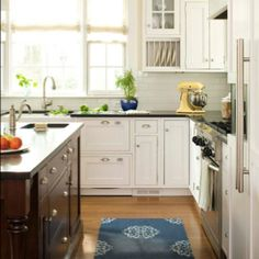 Kitchens (plate rack next to sink idea)