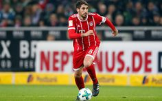 Download wallpapers 4k, Javi Martinez, footballers, Bayern Munich, Bundesliga, match, Martinez, soccer, football, FC Bayern Munich