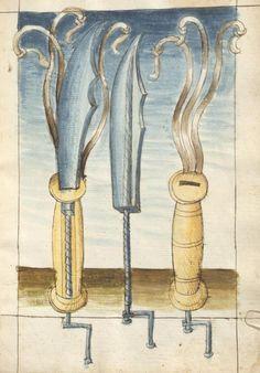 Bellifortis VerfasserKyeser, Conradus  ErschienenElsaß, [um 1460] Ms. germ. qu. 15  Folio 187r