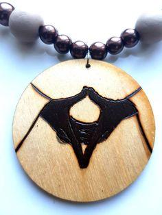 Excited to share the latest addition to my #etsy shop: #MesJewellery #StarofDavid #SealofSolomon, #WoodenJewellery #Rasta #Haile Selassie I #rastafari #jewelry #wood http://etsy.me/2ojdiK7