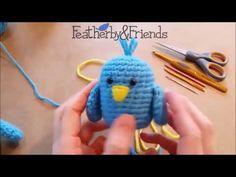 Bluebird Crochet-Along Part 1: Wings - YouTube