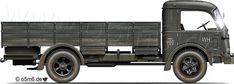 "Engines of the Wehrmacht - ""Fiat 666 NM NM"", 6.5-ton, 4x2, Heavy Truck"
