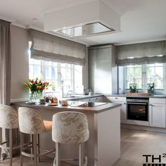 Keitum - Torsten Hallmann White Sofas, Kitchen Furniture, The Hamptons, Beautiful Homes, Modern, Projects, Home Decor, Style, Quartos