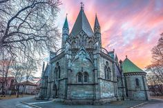#landscape #photo of #nidarosdomen #cathedral #church at #sunset here in #Trondheim #trøndelag #norway #norge.  Taken with the @nikonnordic #D610 camera and 18 - 35mm G lense.  #visittrondheim #visitnorway #opplevtrøndelag #bestofnorway #mittnorge #norgefoto #ilovenorway #sunrise_and_sunsets #loves_norway #bns_norway #special_shots #goldenhour #wu_norway #cityscape #ic_thecity.  www.knutaagedahl.com  http://ift.tt/1zXi9wM by knutaagedahlphoto