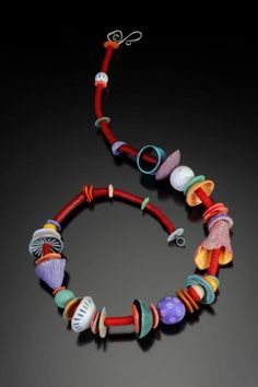 Gorgeous necklace by Ronna Weltman on DailyArtMuse