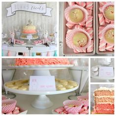 snow bunny themed first birthday party menu- this post is full of great birthday party menu ideas!