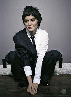 French Actress Audrey Tautou <3