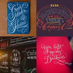 Grande Circular - 10 designers brasileiros que criam incríveis letterings feitos à mão;