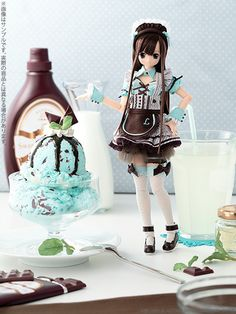 Sweets a la mode chocolate mint ice Azone International, 2013