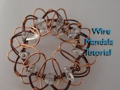 How to Make a Wire Mandala - YouTube