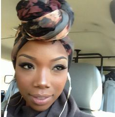 The beautiful Brandy!!! #turban
