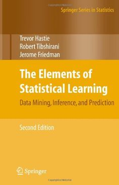 The Elements of Statistical Learning: Data Mining, Inference, and Prediction, Second Edition (Springer Series in Statistics) by Trevor Hastie http://www.amazon.com/dp/0387848576/ref=cm_sw_r_pi_dp_hKySub01EHFTK